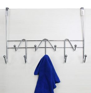 ESYLIFE Hooks Over-Organizer Towel Rack