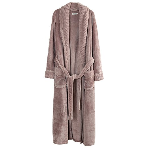 Richie House Women's Plush Soft Bathrobe