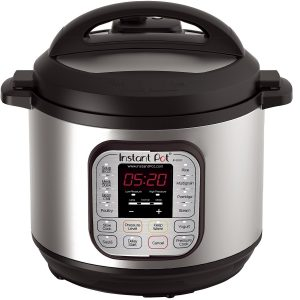 Instant Pot 7-in-1 Multi-Use DUO80 8 Qt Programmable Pressure Cooker