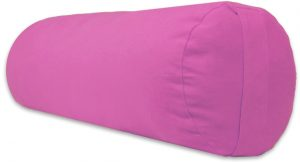 Supportive Rounded Yoga Pillow by Yoga Accessories