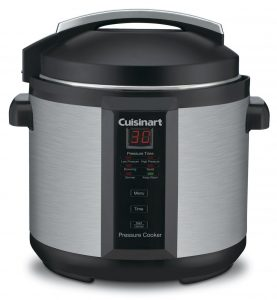 Cuisinart 6 Quart 1000 Watt CPC-600 Electric Pressure Cooker