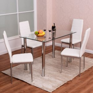 Tangkula 5 PCS Dining Table