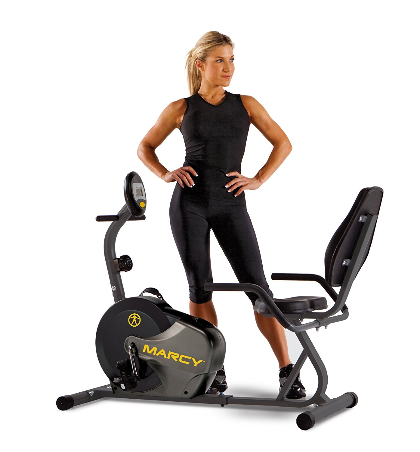 Marcy Adjustable Magnetic Upright Exercise Bike