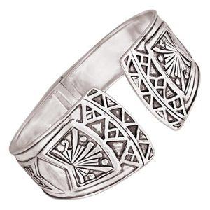 Silpada Willow Hinge Sterling Silver Cuff Bracelet