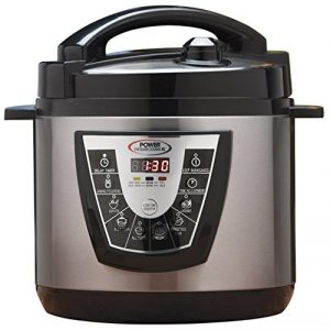 Power Pressure XL 6 Cooker Quart – Silver