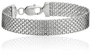 Sterling Silver Italian Mesh Bracelet