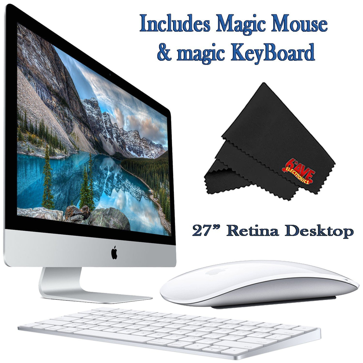 27-inch iMac with 5K Retina display (2015)