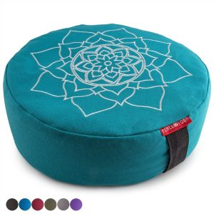 Peace Yoga Zafu Meditation Pillow