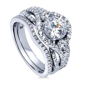 JewelryPalace 1.5ct Infinity Cubic Zirconia Anniversary