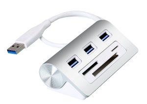 Cateck Bus-Powered USB 3.0 3-Port Hub