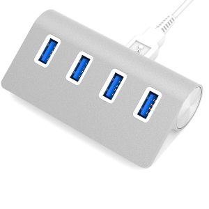 Close Premium 4-Port Gold Aluminum iMac USB 3.0 Hub