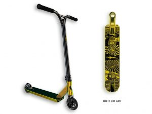 Lucky Scooter Lucky Protest Complete Stunt Scooter (Neo Gold)