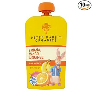 Mango, orange and banana Snacks by Peter Rabbit