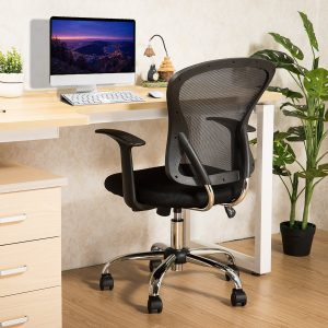 YAMASORO Office Mesh Task Chair-Mid Back Task Chairs