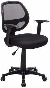 Flash Furniture Mid-Back Swivel Task Chair-Mid Back Task Chairs