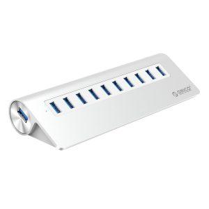 ORICO Aluminum 10 Port USB Hub