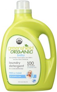 The GreenShield Organic Baby Laundry Detergent