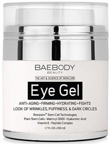 Baebody Eye gel meant for Puffiness, Dark Skin, Bags, and Wrinkles