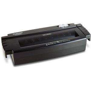Aurora Paper/Credit Card6-Sheet Strip-Cut Shredder without the Wastebasket