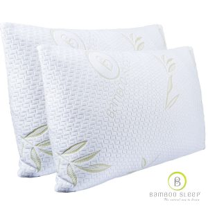 Bamboo Sleep Premium Bamboo Memory Foam Pillow