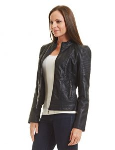 Come Together California CTC Women's Leather Motorcycle Jacket