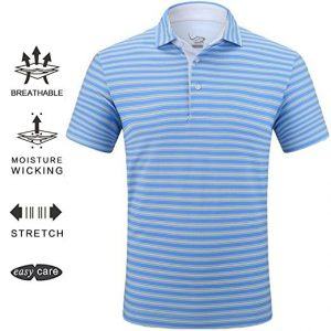 EAGEGOF Tech Performance Golf Polo Shirt