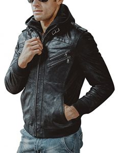 Flavor Men Motorcycle Leather Jacket