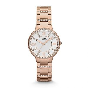 Fossil Virginia Stainless Steel Watches Women