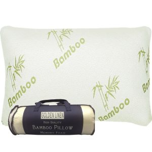 Goldenlinens Memory Foam Bamboo Pillows