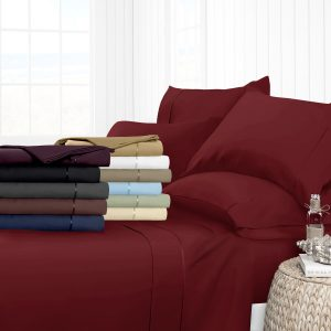 Italian Luxury Egyptian Collection 4-Piece Bed Sheet Set