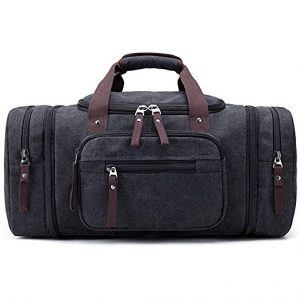 Kenox Oversized Canvas Travel Duffel Bag