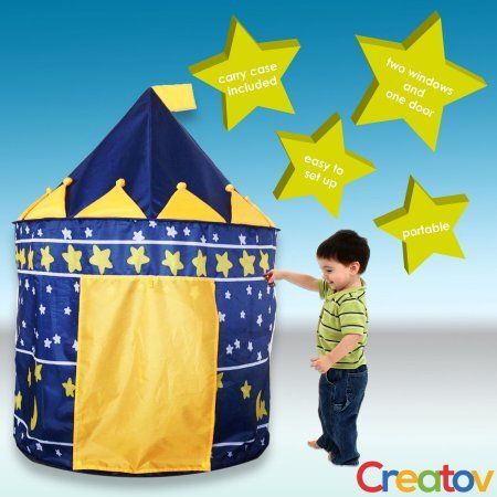 Kids Play Tent Indoor Outdoor - for Boys Girls Baby Toddler Playhouse