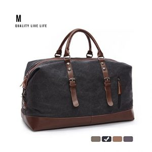 MEWAY Canvas Travel Luggage Duffle Bag