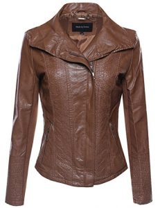 Made by Emma MBE Women's Bike Leather Jacket