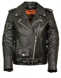 Milwaukee Leather Ladies Motorcycle Leather Jacket
