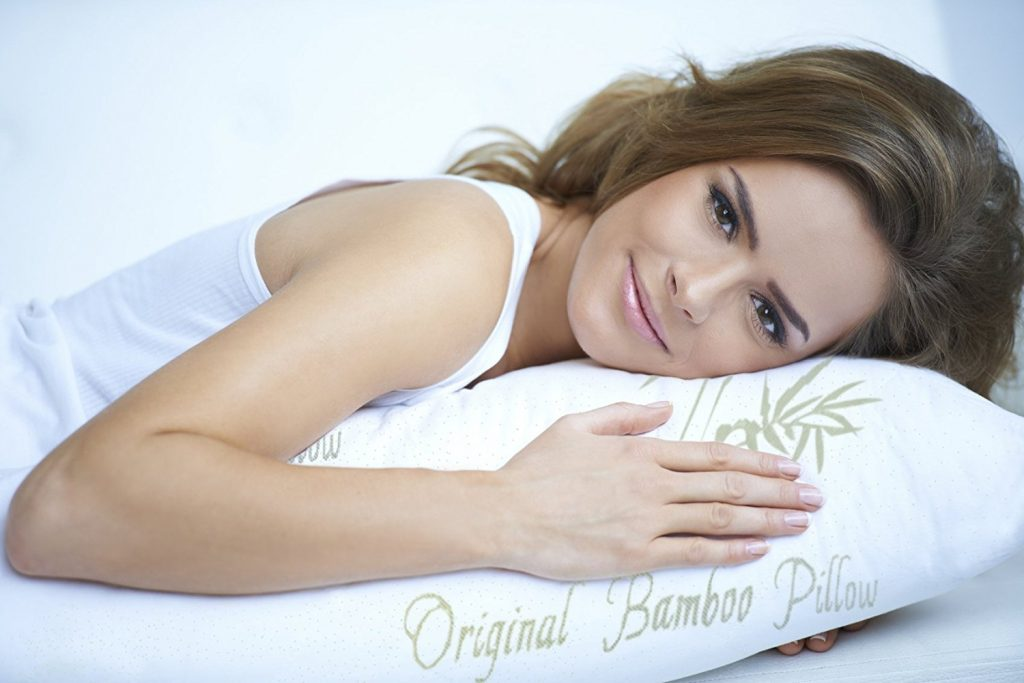 Original Bamboo Pillow form Sleeping