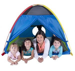 Pacific Play Tents Super Duper 4 Kid Dome Tent for Indoor / Outdoor Fun