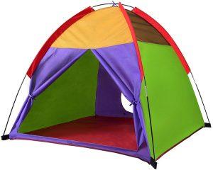 Rainbow Playhouse Outdoor Camping, Indoor Playground Kids Tent