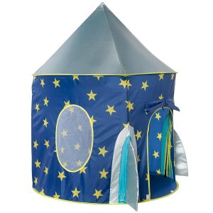Rocket Ship Play Tent - Spaceship Playhouse for Kids