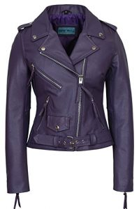 Smart Range Women's Brando Bike Leather Jacket