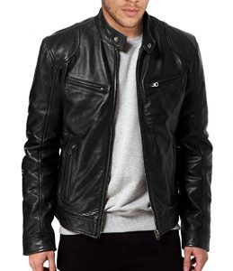 The Leather Men's Leather Factory Jacket (SWORD)