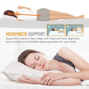 WonderSleep Premium Adjustable Loft Bamboo Pillow