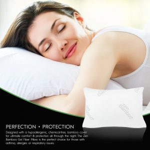 Zen Bamboo Ultra-Plush Gel Bamboo Pillow