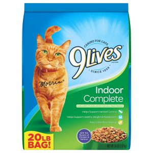 9 Lives Dry Cat Food