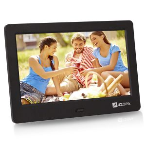 Arzopa 7-Inch IPS Widescreen Digital Photo Frame HD