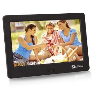 Arzopa 7-Inch IPS Widescreen Digital Photo Frame HD