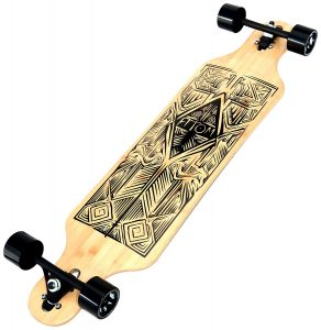 Atom Drop-Through Bamboo Longboard