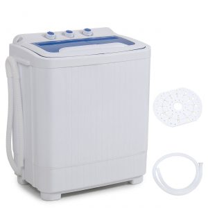 DELLA Mini Washer Machine with Built-in Pump