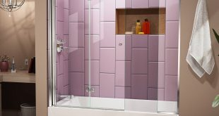 Dreamline Aqua Fold frameless hinged door