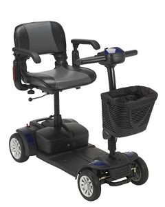 Drive Medical Spitfire 4-Wheel Ex Travel Mobility Scooter
